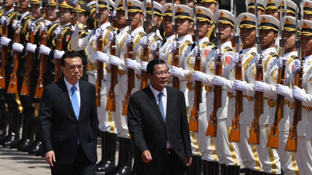 Hun Sen - Cambodia - China