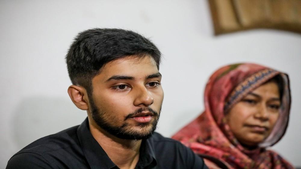 Monorom Palak, son of journalist Shafiqul Islam Kajol