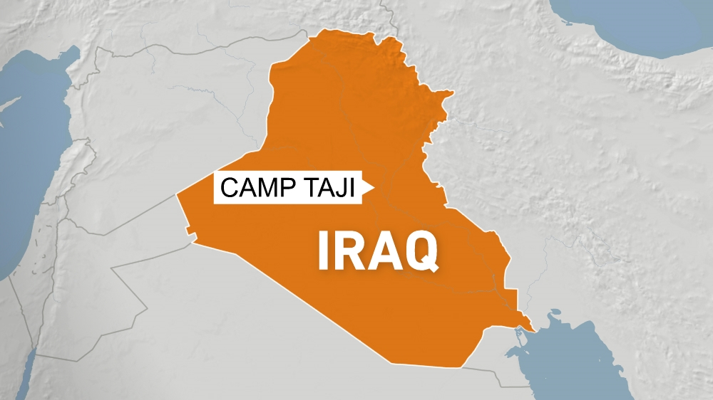 Iraq base hosting US-led coalition troops hit by rocket fire thumbnail