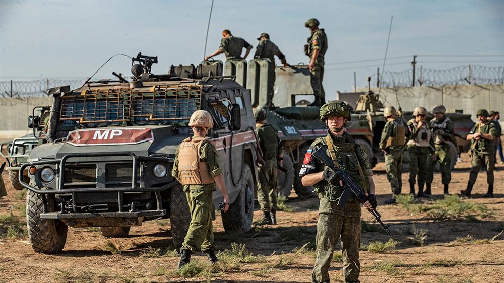 Syria's war: Russia, Turkey, begin joint patrols along M4 highway
