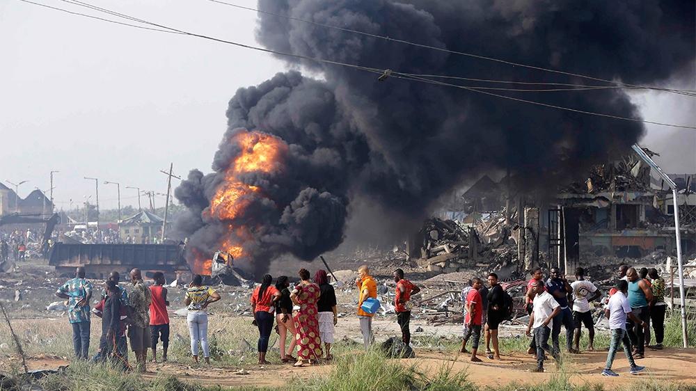 Nigeria gas explosion: 17 dead, rescue efforts under way - Al Jazeera English