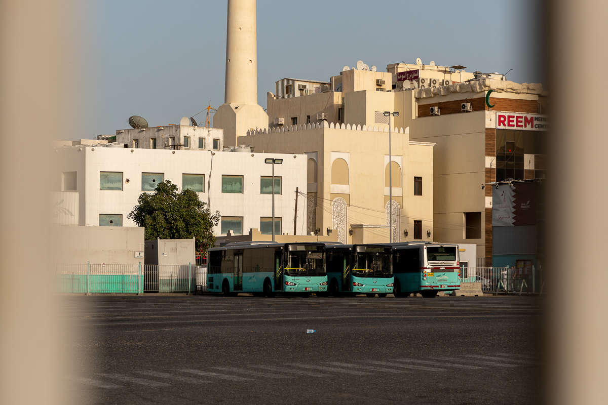 All forms of public transport, including buses and Qatar's newly launched metro system, have been suspended. [Sorin Furcoi/Al Jazeera]