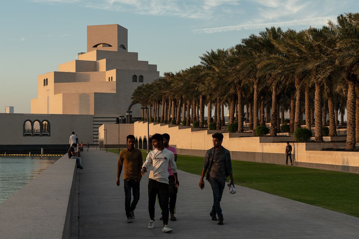 The famous Museum of Islamic Art is one of the cultural establishments in the country that had to shut its doors as part of the measures take by the authorities to slow the spread of the virus. [Sorin Furcoi/Al Jazeera]