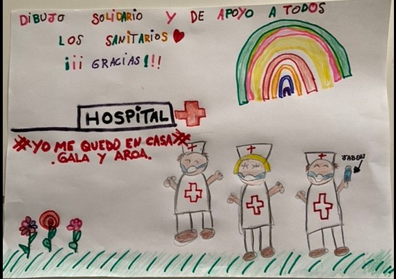 Spanish child's picture- Graham Keeley
