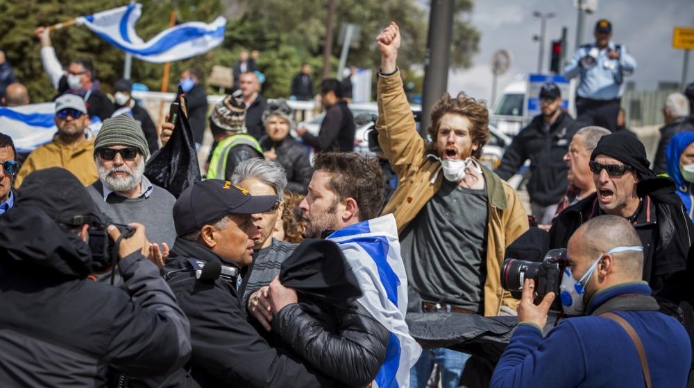 Netanyahu accused of dictatorship amid coronavirus crisis thumbnail
