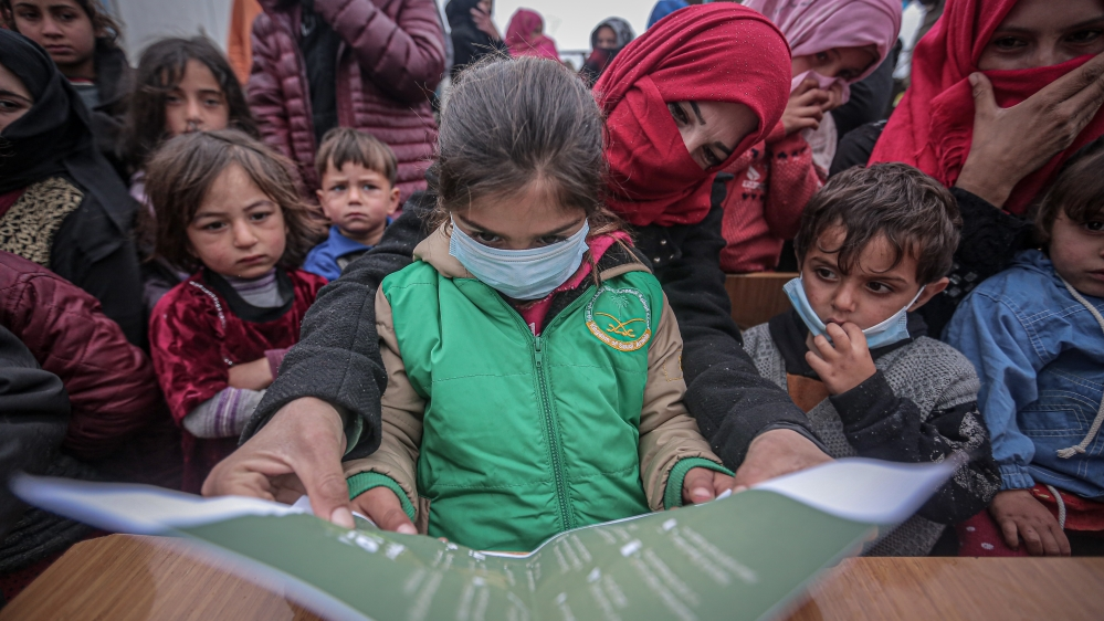 Coronavirus precautions in Idlib