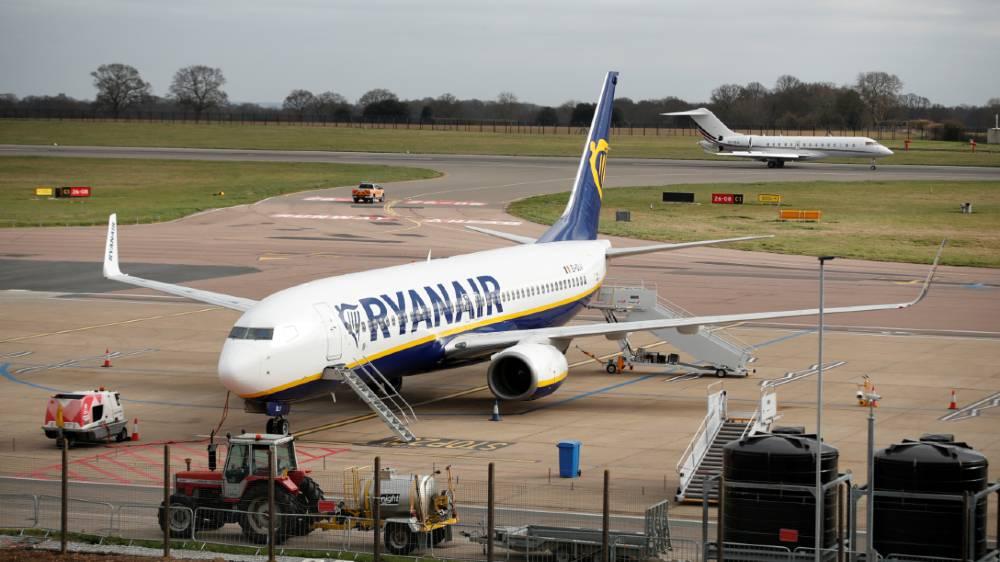 Ryanair - reuters