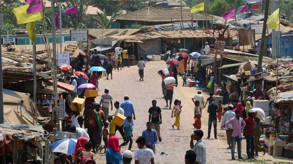 Rohingya camp, Bangladesh