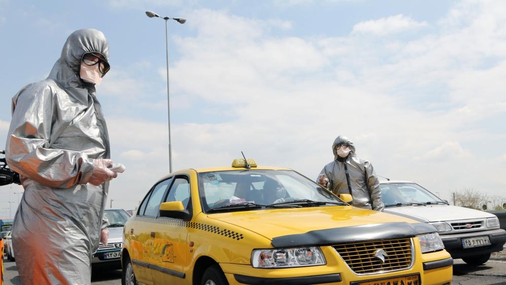 Coronavirus precautions in Iran