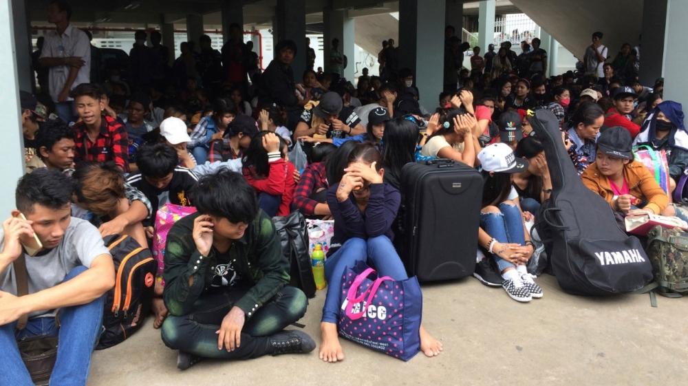 Migrant workers - Myanmar - Thailand