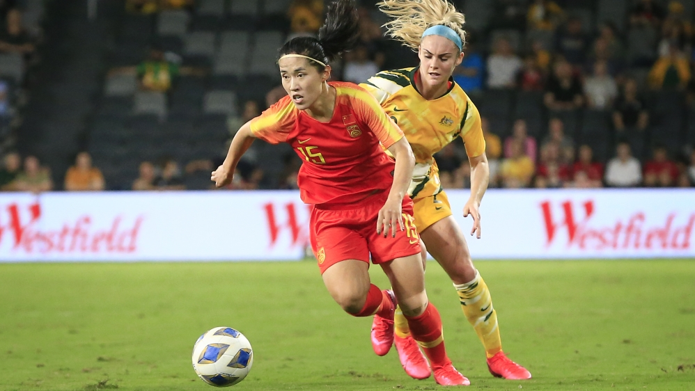 Women's Olympic Football Tournament Qualifier - Australia v China PR
