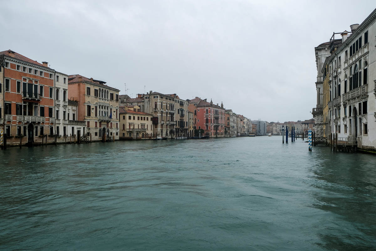 The spread of coronavirus has caused a decline in the number of tourists in Venice. [Manuel Silvestri/Reuters]