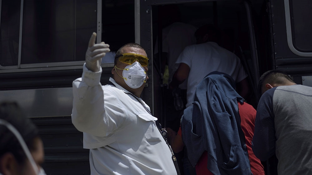 Guatemalan deported from US tests positive for COVID-19: Official