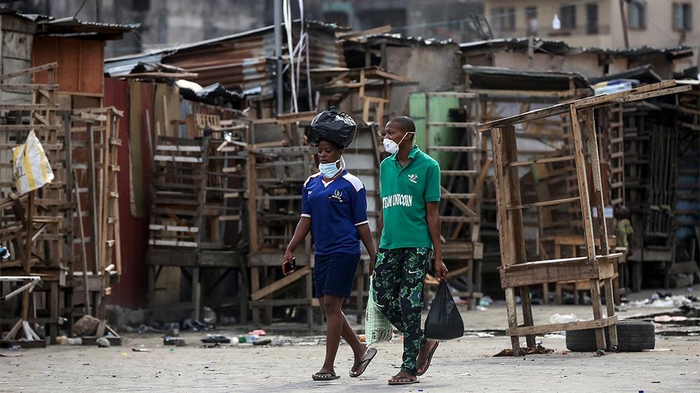 Nigeria announces lockdown of major cities to curb coronavirus thumbnail