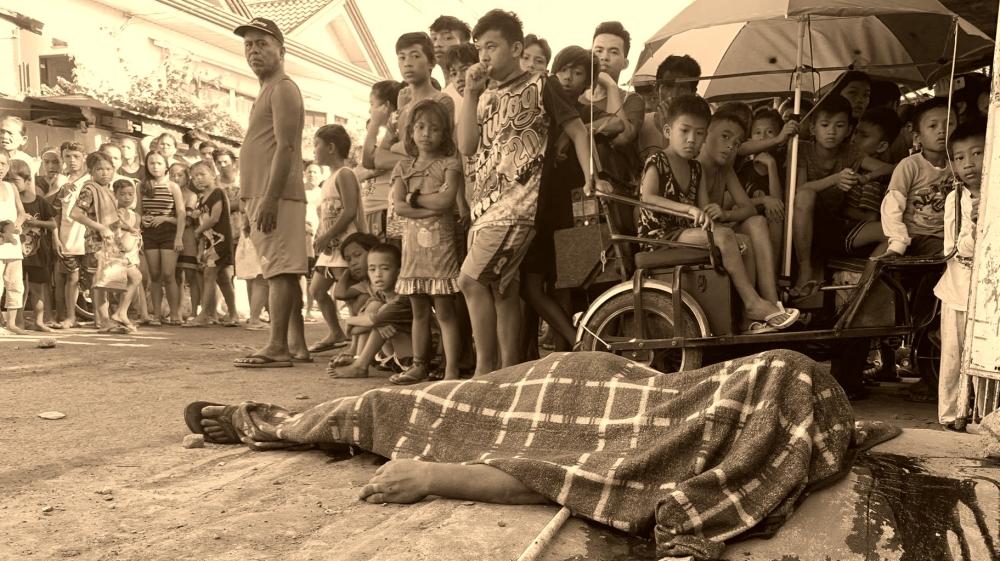 Coronavirus lockdown not stopping Duterte''s deadly war on drugs [Courtesy of Gabriel Bonjoc]