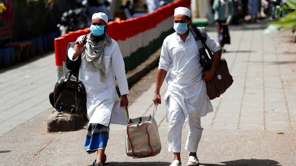 India links coronavirus cases to Muslim gathering in New Delhi