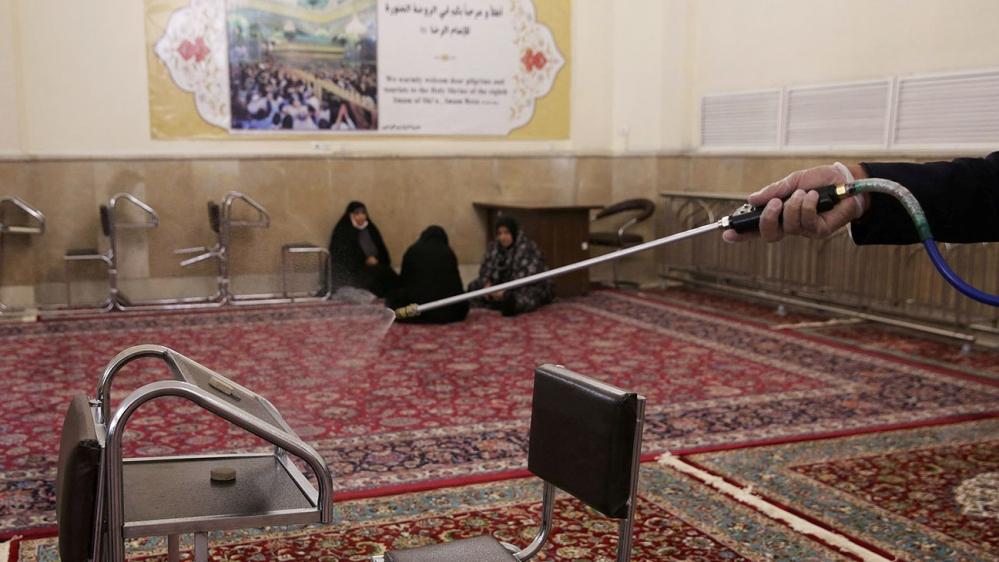 Sanitiser Iran