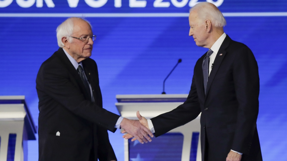 Sanders, Biden prepare for long slog to US Democratic nomination thumbnail