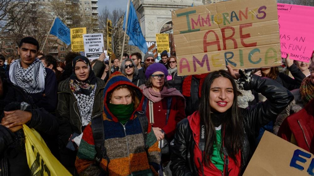 Immigrant Protest