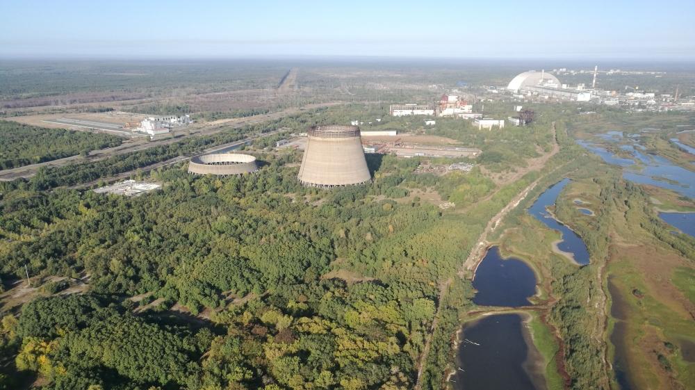Forest around Chernobyl nuclear power plant mansur mirovalev