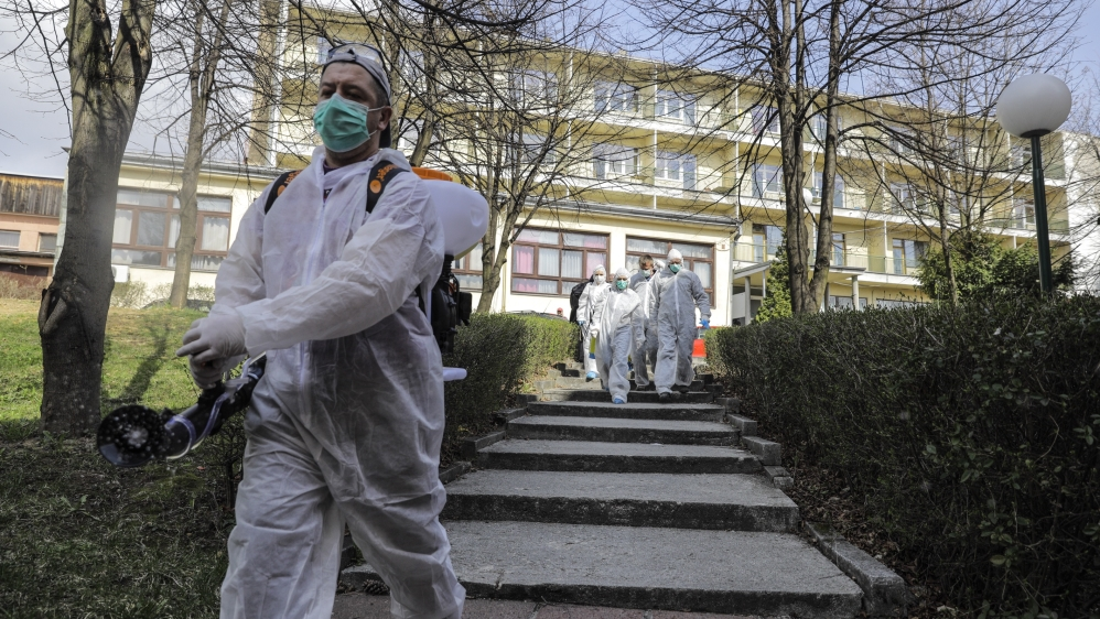 Coronavirus precautions in Bosnia and Herzegovina