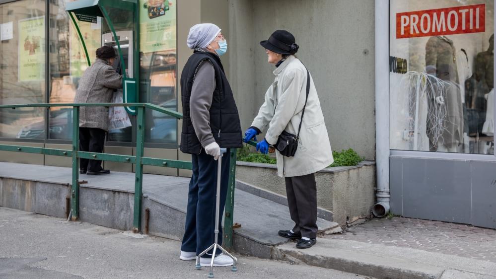 Documenting Romanians daily life under Covid-19 from a motorhome [Ioana Moldovan/Al Jazeera]