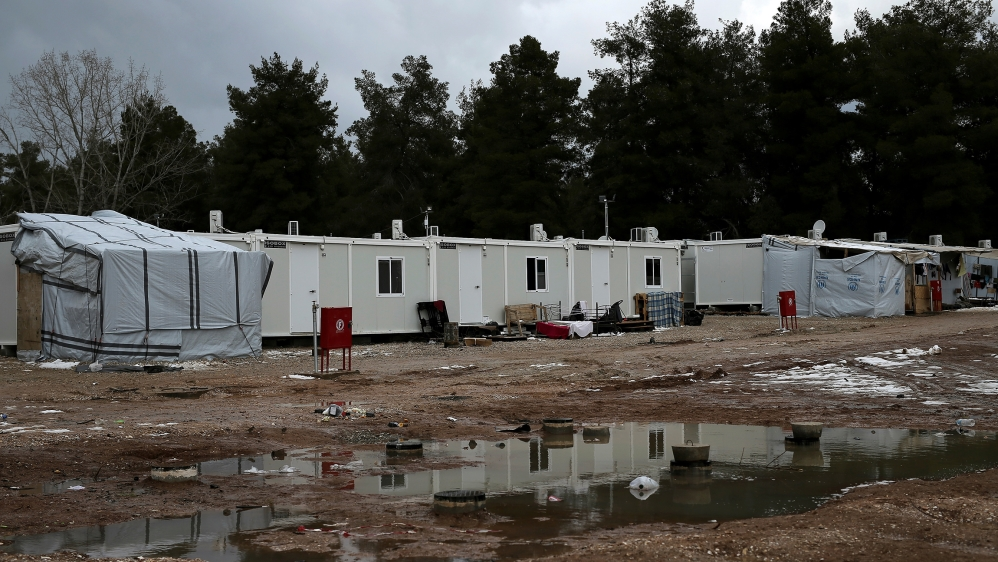 A view of a refugee camp in Ritsona, northern of Athens, Greece, REUTERS/Alkis Konstantinidis