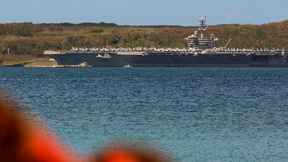 Another 103 sailors from USA carrier test positive for coronavirus