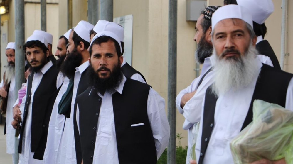 Afghan government releases 100 Taliban