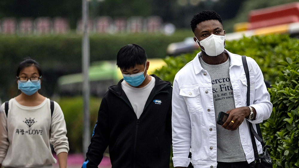 African students 'mistreated, evicted' in China over coronavirus thumbnail