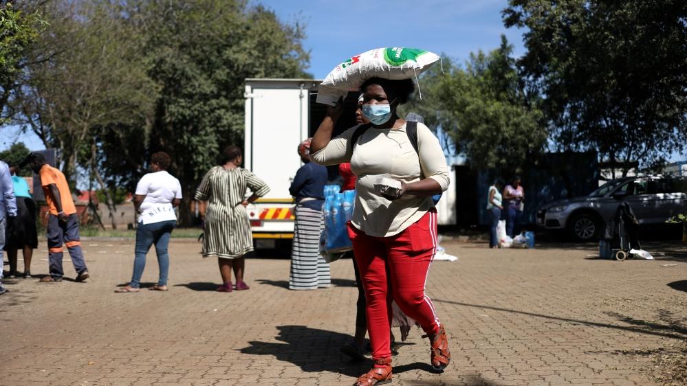 Spread of the coronavirus disease (COVID-19) in Soweto