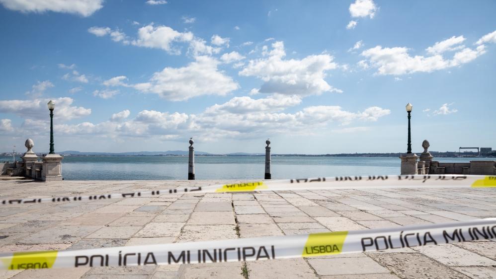 Covid-19 quietness in Portugal