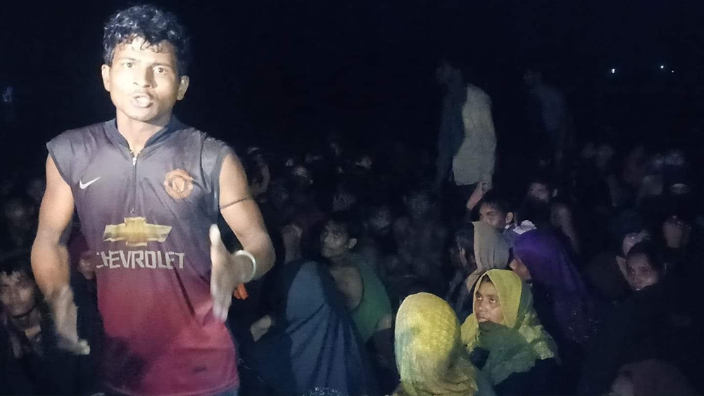 Starving Rohingya refugees rescued off Bangladesh after two months at sea