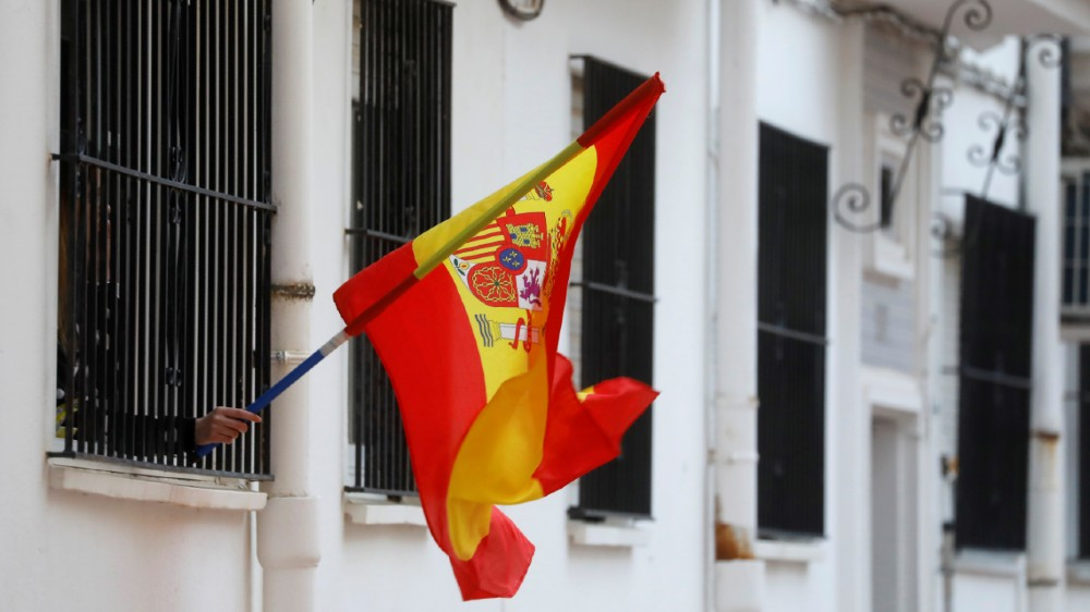 Spanish flag - reuters