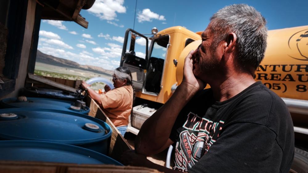 ক্রমবর্ধমান তাপমাত্রা এবং খরা পরিস্থিতি নাভাজো জাতির জন্য জল সংকটকে তীব্র করে তোলে