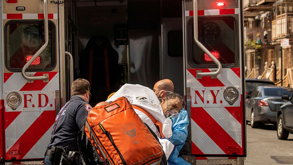 On the coronavirus front line: The life of a NYC paramedic thumbnail