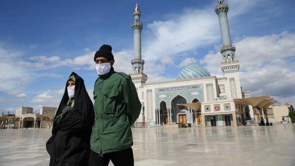 Iran mosque coronavirus Qom