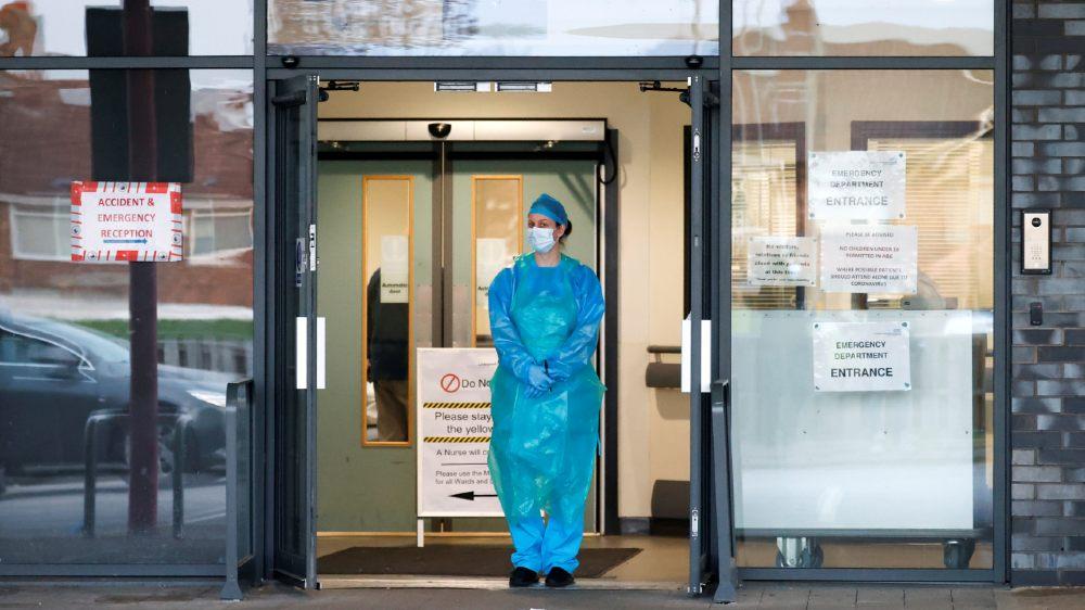 UK hospital - reuters