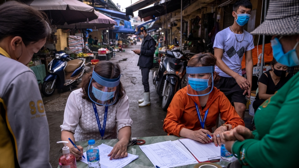 Vietnam Conduct COVID-19 Tests To Contain Spread Of The Coronavirus