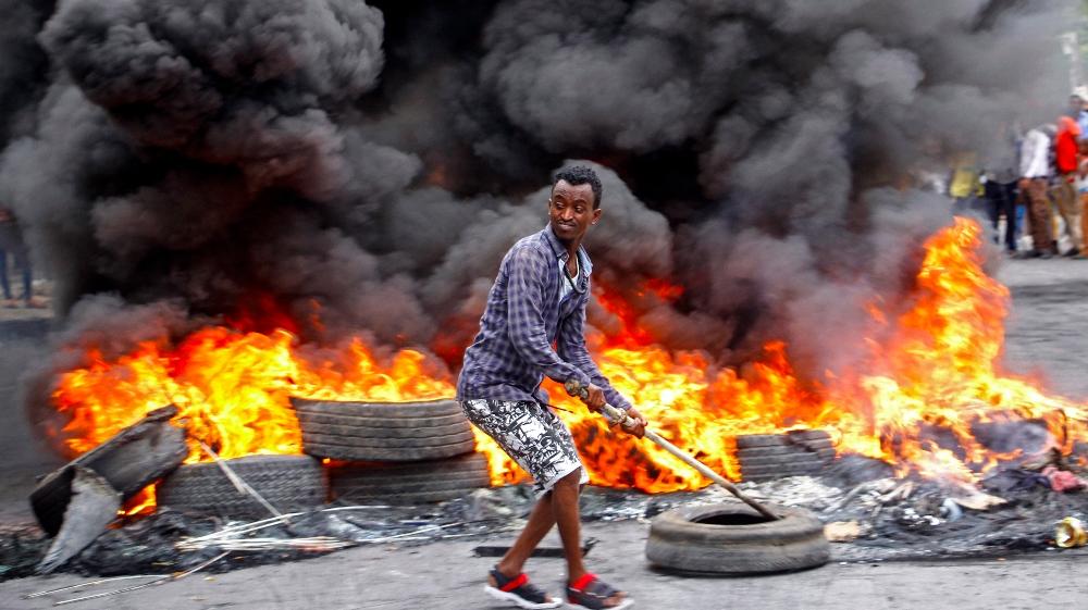 Anger in Mogadishu after police kill civilian in COVID-19 curfew thumbnail
