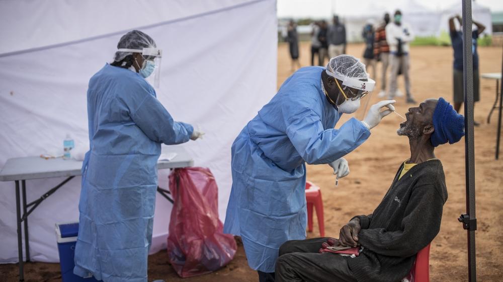 Healthcare workers across Africa share their coronavirus stories thumbnail