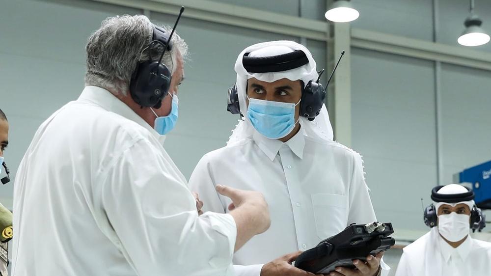 Tamim bin Hamad Al Thani - Ventilators [Al Jazeera]