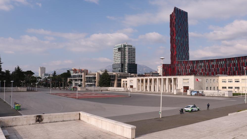Coronavirus precautions in Tirana