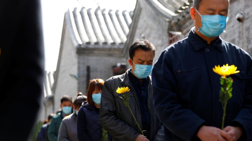 China mourn coronavirus