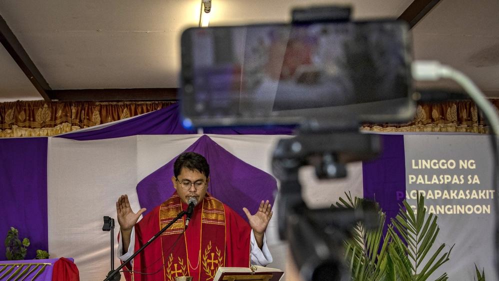 Filipino Christians Mark Palm Sunday Amid The Coronavirus Outbreak