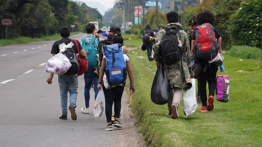 Venezuelan migrants - Colombia