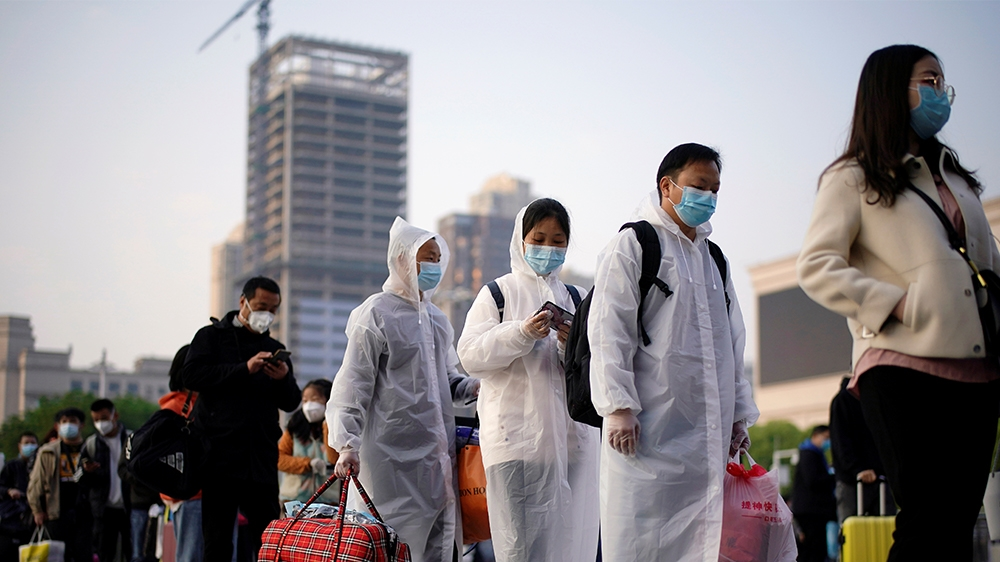 Wuhan travel ban ends, virus deaths jump in US, UK: Live updates thumbnail