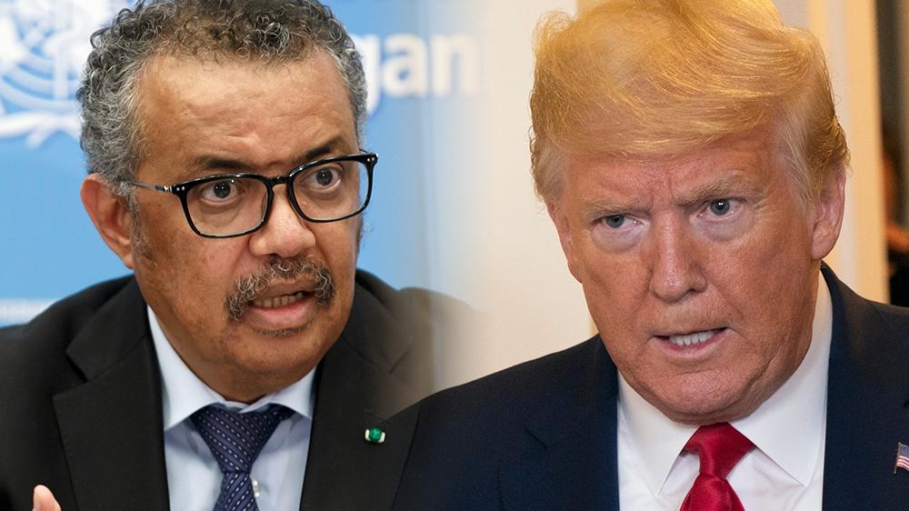 Trump continues to attack WHO's coronavirus response | News | Al ...