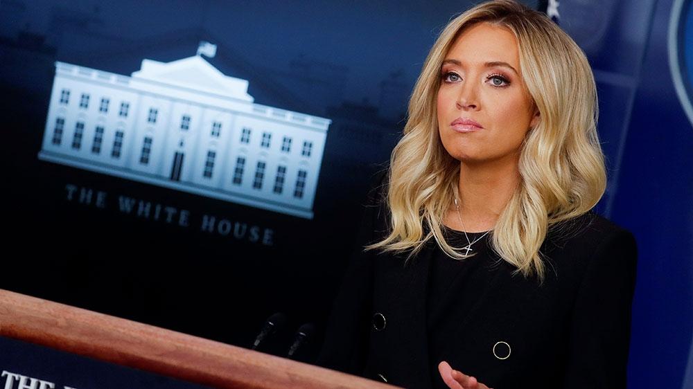 New White House Press Secretary Kayleigh McEnany