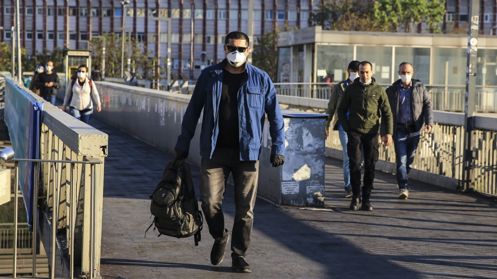 2-day coronavirus restrictions in Istanbul